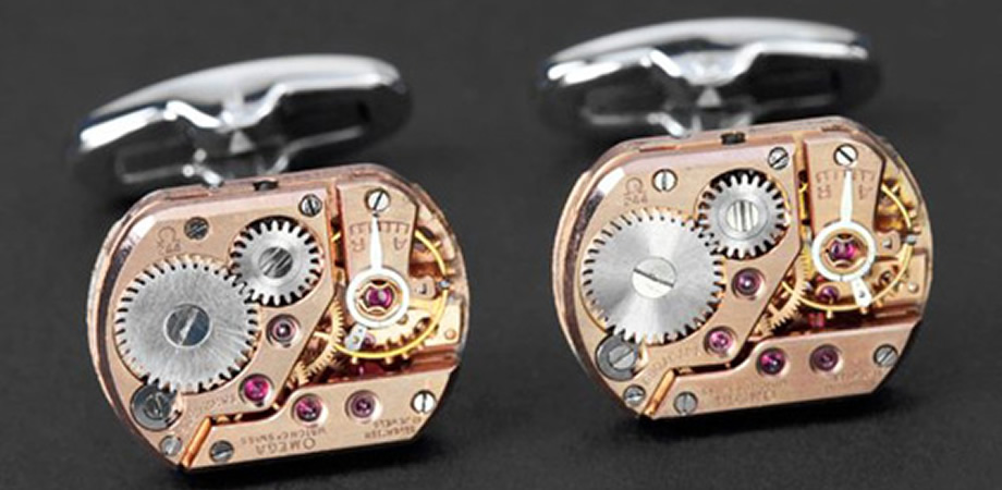 Ethical and luxurious cuff links!