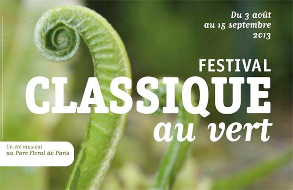 Festival : Classique au Vert au Parc Floral de Paris
