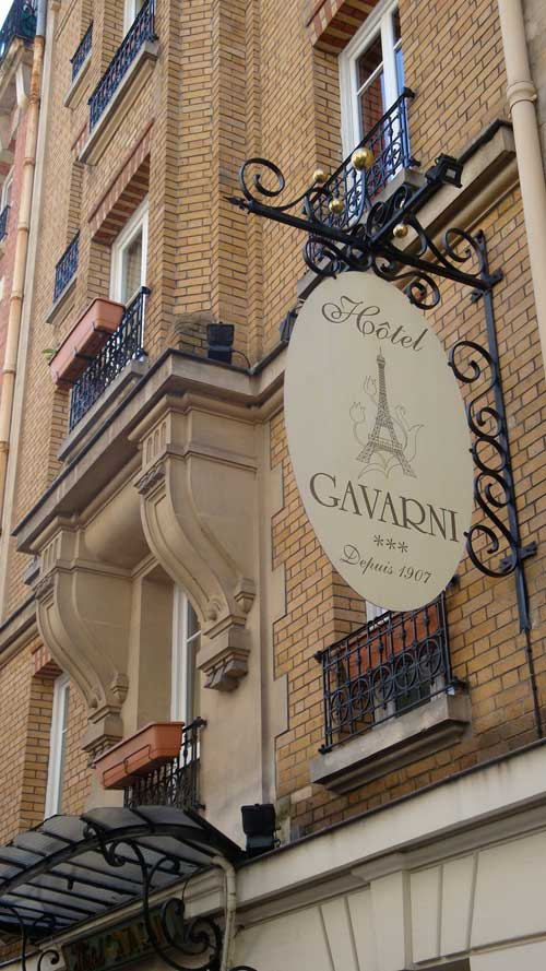 The Convictions of Gavarni's Hotel