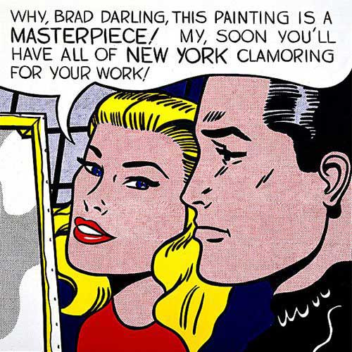 Exhibition: Roy Lichtenstein at the Pompidou Center