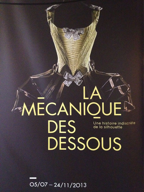 Exhibition :  The silhouette mechanical, an indiscreet story of the silhouette