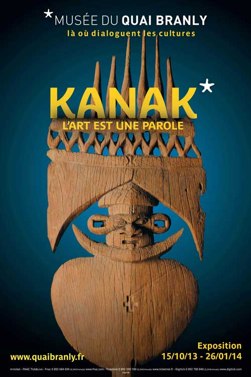 Exposition : Kanak, L'Art est une parole