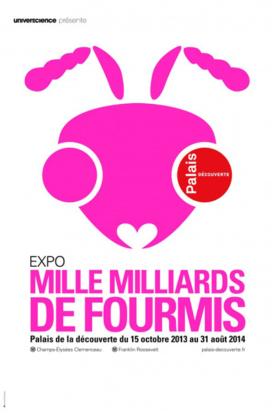 Exposition : Mille milliards de fourmis