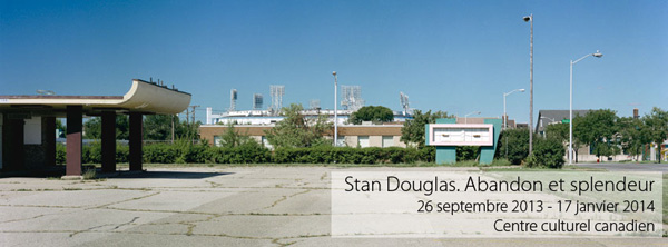 Exposition stan douglas abandon et splendeur paris for Hotel douglas paris