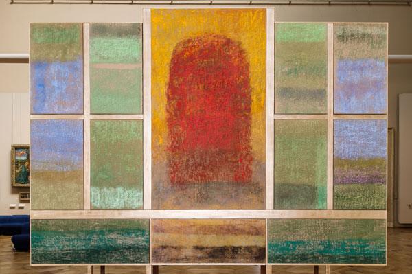 Exposition : Monique Frydman, Polyptyque Sassetta