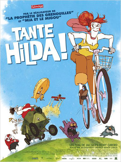 Tante Hilda fights for biodiversity!