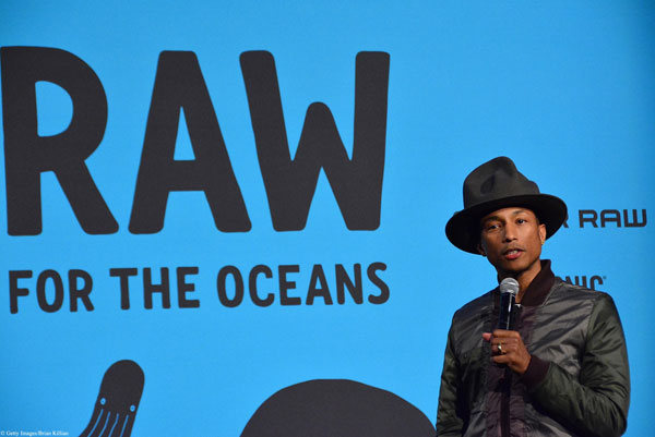 Pharrell Williams et G-Star Raw s'associent contre la pollution des océans