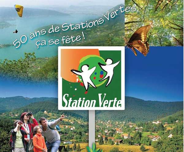 "50th anniversary of French ""Station Verte"" label"