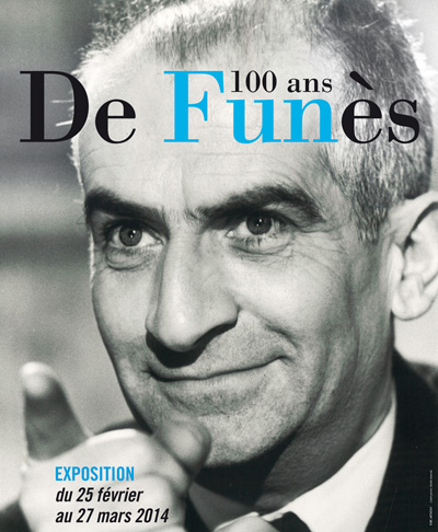 Exhibition: Louis de Funès, 100 years