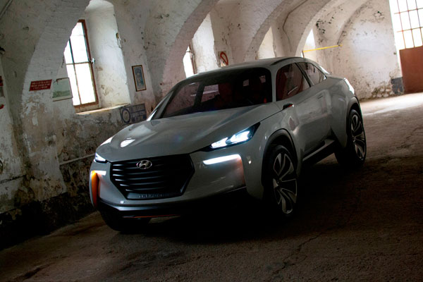 Hyundai presents a hydrogen-powered SUV in Geneva Motor Show
