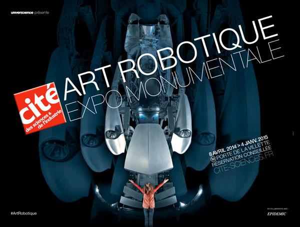 Exposition : Art robotique