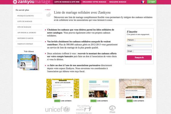 liste de mariage solidaire mariage vert green hotels paris