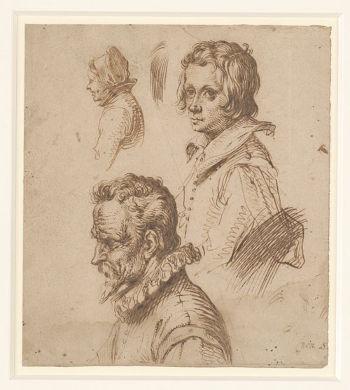 Exhibition: From Bosch to Bloemaert, Dutch drawings from the 15th and 16th centuries
