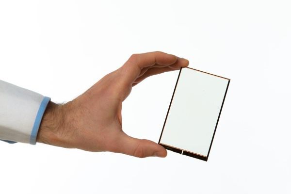 A transparent film that turns a smartphone into a solar pannel