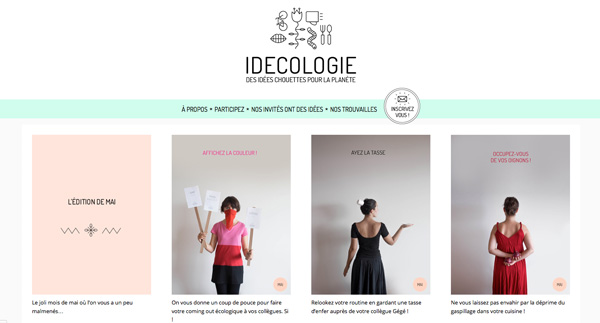 Idecologie, green ideas for your daily life!