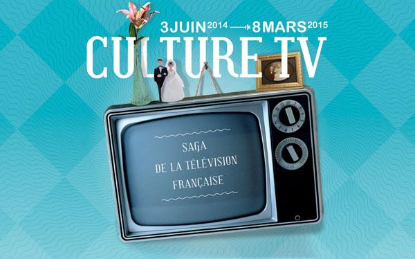 Exposition : Culture TV, saga de la télévision française