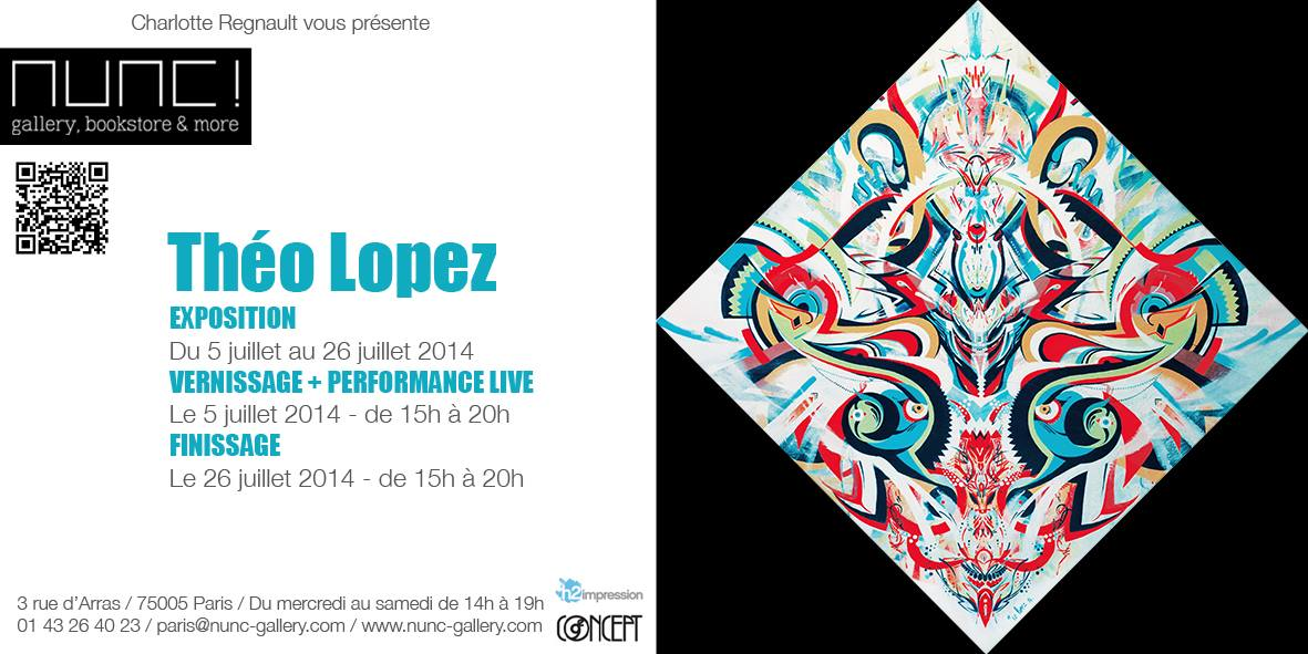 Exposition : Théo Lopez