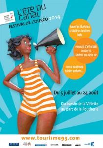affiche-festival-de-l-ourcq-2014-green-hotels-paris-eiffel-trocadero-gavarni