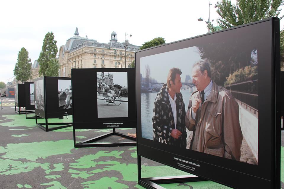 Exposition : Les stars et la Seine