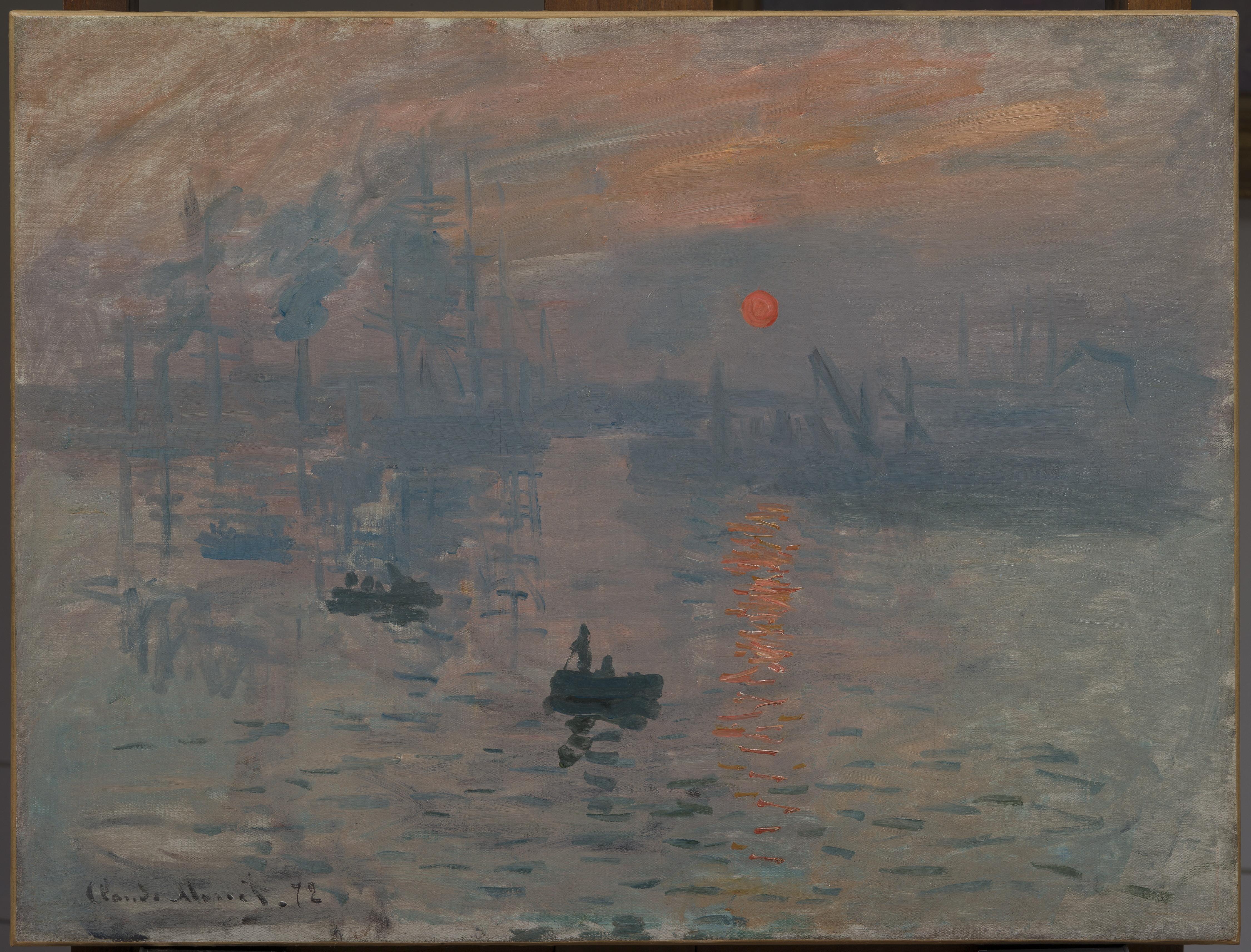 Exposition : Impression, soleil levant