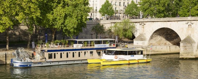 Le Batostar : la vedette électro-solaire de la Seine