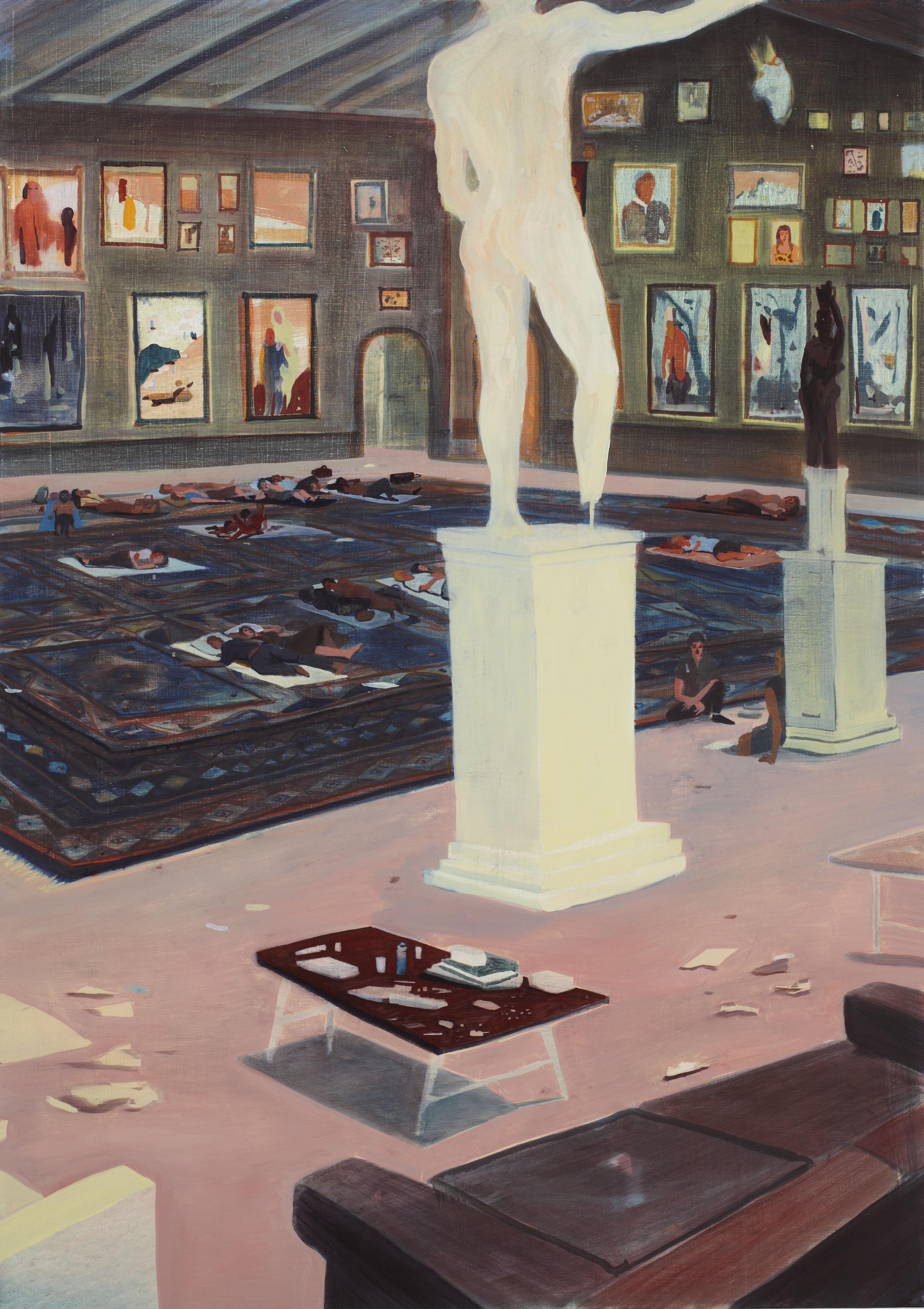 Exposition : Jules de Balincourt