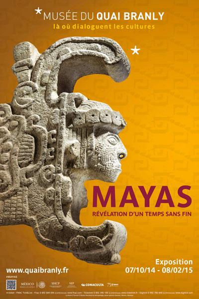 Exposition : Mayas, révélations sur un temps sans fin