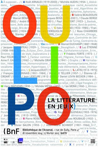 Exposition : Oulipo, la littérature en jeu(x)