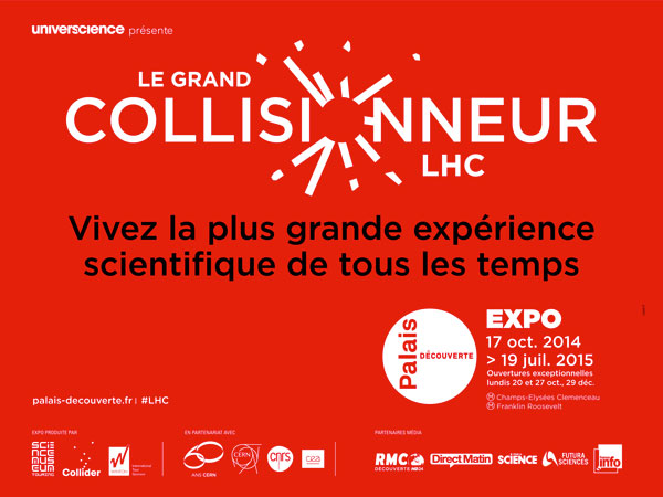 Exposition : Le Grand Collisionneur LHC
