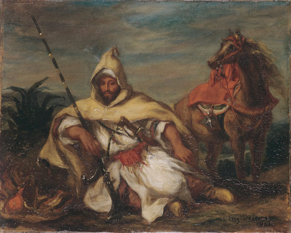 Exposition : Objets dans la peinture, souvenir du Maroc