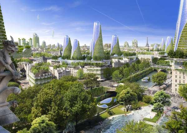 Paris Smart City : des gratte-ciel dépolluants d'ici 2050 dans la capitale ?