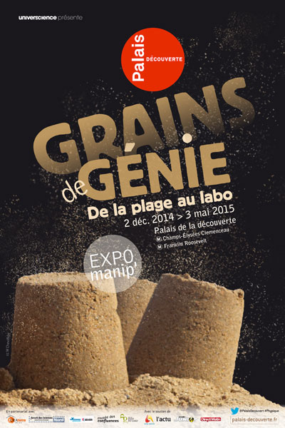 affiche-exposition-grains-de-genie-palais-decouverte-green-hotels-paris-eiffel-trocadero-gavarni