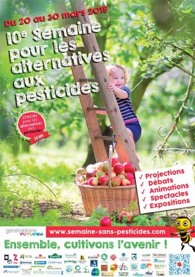 10ème édition de la Semaine pour les Alternatives aux Pesticides (SAP)
