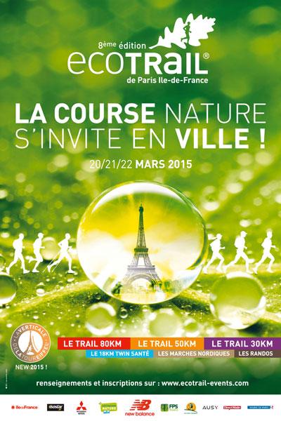8ème édition des épreuves EcoTrail®