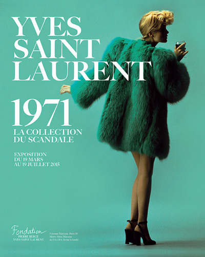Exposition : Yves Saint Laurent 1971, la collection du scandale