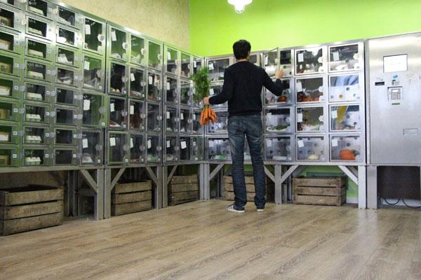 Au bout du champ : des distributeurs de légumes frais en plein Paris !