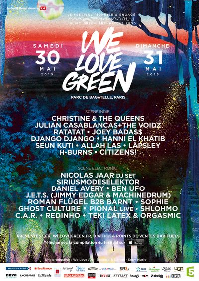 We Love Green 2015 : le festival éco-responsable !