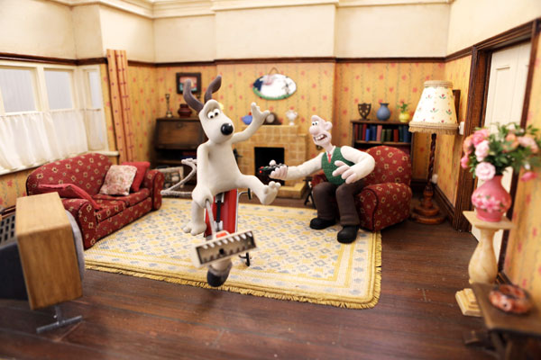 Exhibition: Aardman, Art that takes shape