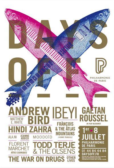 affiche-festival-days-off-philharmonie-green-hotels-paris-eiffel-trocadero-gavarni
