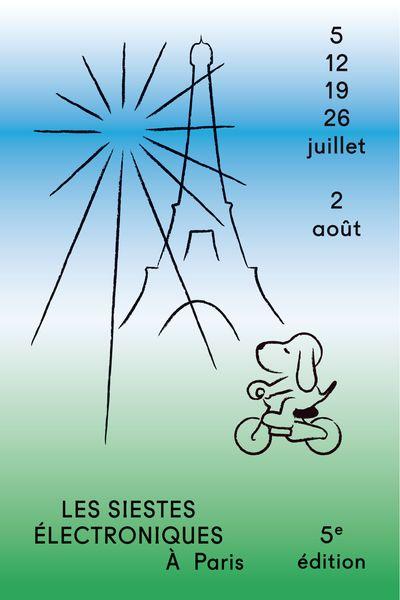 affiche-festival-siestes-electroniques-green-hotels-paris-eiffel-trocadero-gavarni