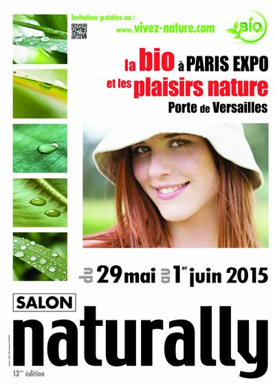 Naturally 2015 : le salon du bio à Paris