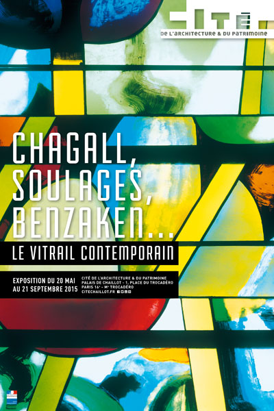 Exhibition: Chagall, Soulages, Benzaken… Le Vitrail contemporain