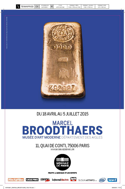 Exposition : Marcel Broodthaers