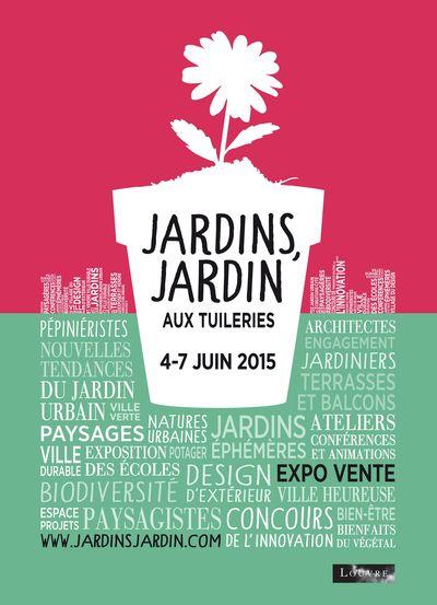 Jardins, Jardin fête son 12ème anniversaire aux Tuileries !