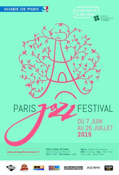 affiche-paris-jazz-festival-edition-2015-parc-floral-green-hotels-paris-eiffel-trocadero-gavarni