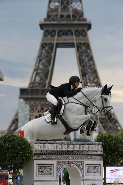 Paris Eiffel Jumping 2015 sur le Champ de Mars