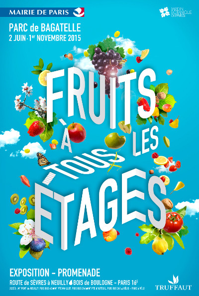affiche-exposition-fruits-a-tous-les-etages-parc-bagatelle-green-hotels-paris-eiffel-trocadero-gavarni