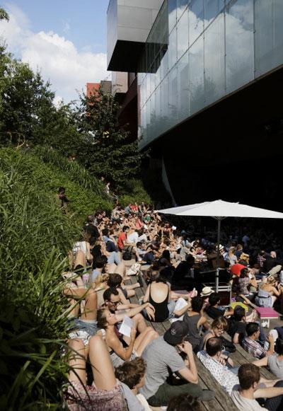 Jardin d\'Eté 2015 - quai Branly | Green Hotels Paris