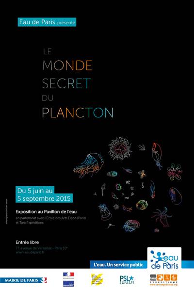 affiche-exposition-le-monde-secret-du-plancton-pavillon-de-l-eau-green-hotels-paris-eiffel-trocadero-gavarni