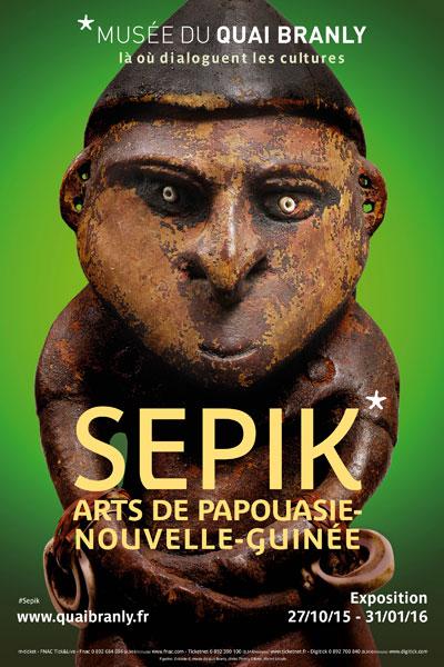 Exposition : Sepik, Arts de Papouasie-Nouvelle-Guinée